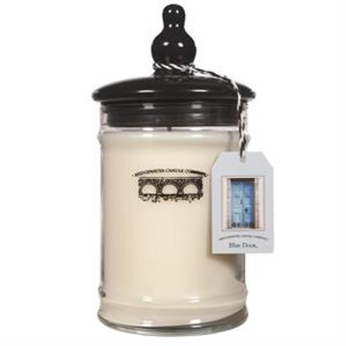 Bridgewater Candle Company Blue Door Large Glass Jar Candle