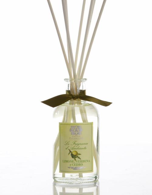 Antica Farmacista Lemon Verbena & Cedar Home Ambience Reed Diffuser - 100 ml.