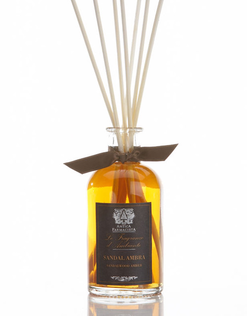 Antica Farmacista Sandalwood Amber Home Ambience Reed Diffuser - 100 ml.
