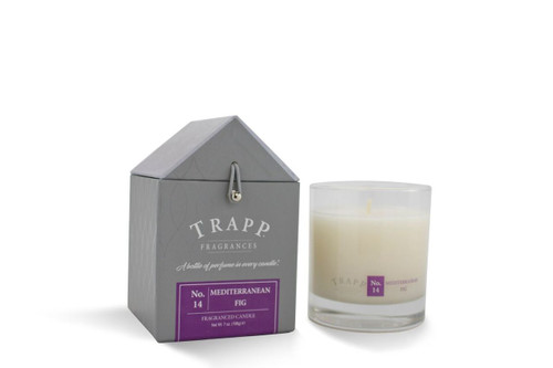 No. 14 Trapp Candles Mediterranean Fig - 7oz. Poured Candle