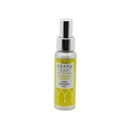 Trapp No. 10 Lemongrass Verbena - 2.5 oz. Home Fragrance Mist