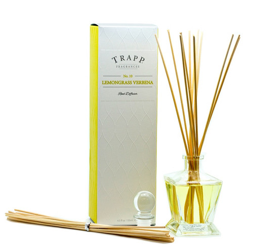 Trapp Fragrances Lemongrass Verbena Reed Diffuser