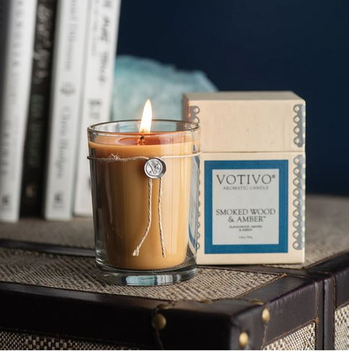Votivo Aromatic Collection Smoked Wood & Amber