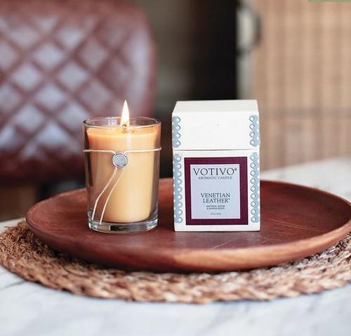 Votivo Aromatic Collection Venetian Leather
