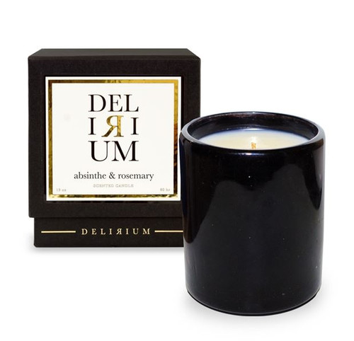 Delirium - Absinthe & Rosemary  13 oz Candle