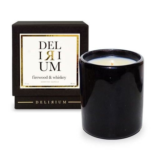 Delirium - Firewood & Whiskey 13 oz Candle