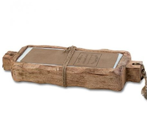 Himalayan Trading Post 44 oz Driftwood Tray Tobacco Bark
