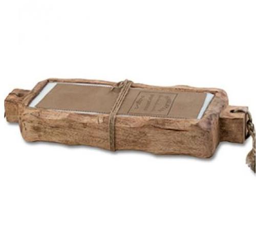 Himalayan Trading Post 44 oz Driftwood Tray Tobacco Bark