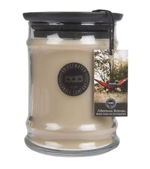 Bridgewater Candle Company Afternoon Retreat Small Glass Jar Candle