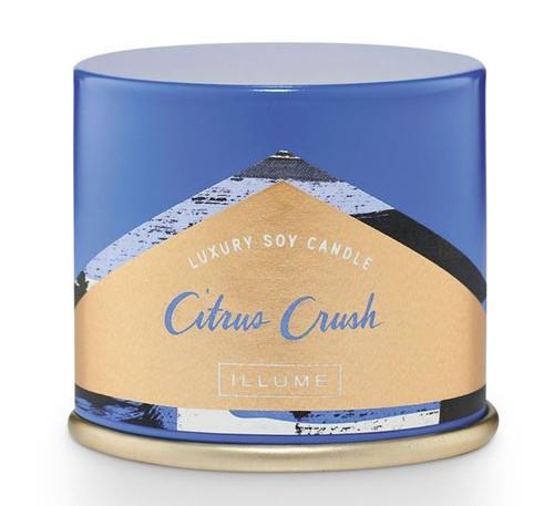 Illume Citrus Crush Demi Vanity Tin Candle