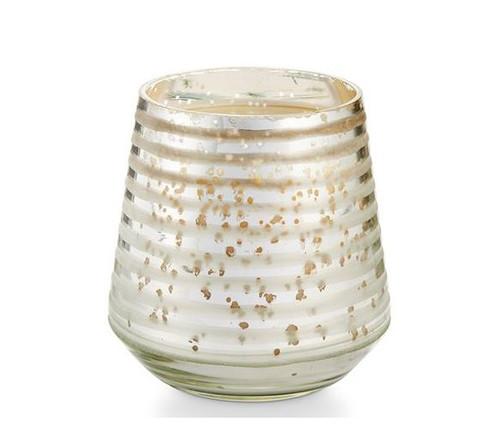 Illume Balsam & Cedar Small Mercury Etched Glass