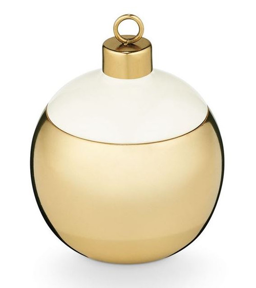 Illume Winter Mint Metal Ornament Candle