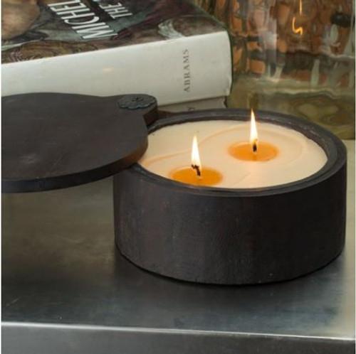 Himalayan Trading Post Spice Pot Candle Bourbon Vanilla 16oz