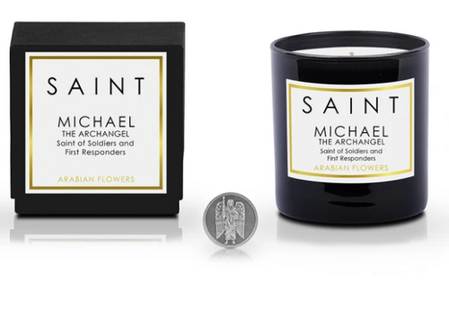 Saint Candles - Saint Michael the Archangel • Saint of Soldiers and First Responders