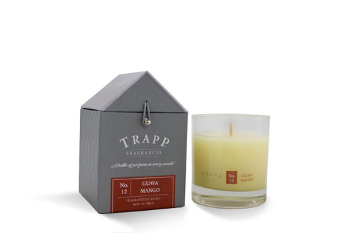 No. 12 Trapp Candle Guava Mango - 7oz. Poured Candle