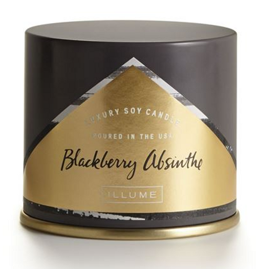 Illume Blackberry Absinthe Demi Vanity Tin Candle