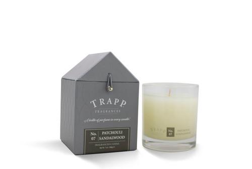 No. 7 Trapp Candle Patchouli Sandalwood - 7oz Candle