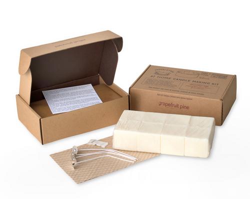 Himalayan Trading Post - 32 oz Candle Making Kit - Tabacco Bark