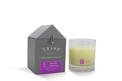 No. 60 Trapp Candles Jasmine Gardenia - 7oz. Poured Candle