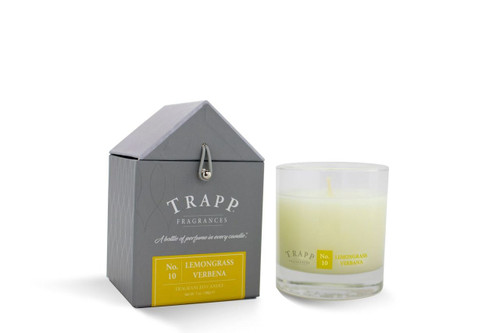 No. 10 Trapp Candles Lemongrass Verbena - 7oz Candle