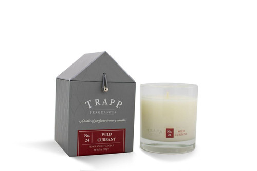 No. 24 Trapp Candles Wild Currant - 7oz. Poured Candle