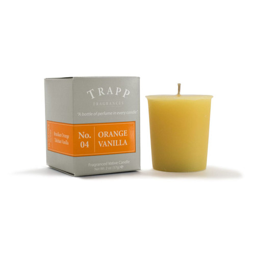 No. 4 Trapp Candle Orange Vanilla - 2oz. Votive Candle