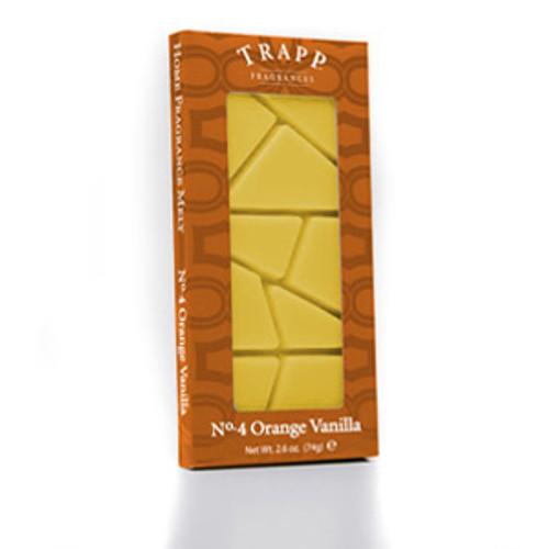 No. 4 Trapp Orange/Vanilla - 2.6 oz. Home Fragrance Melts