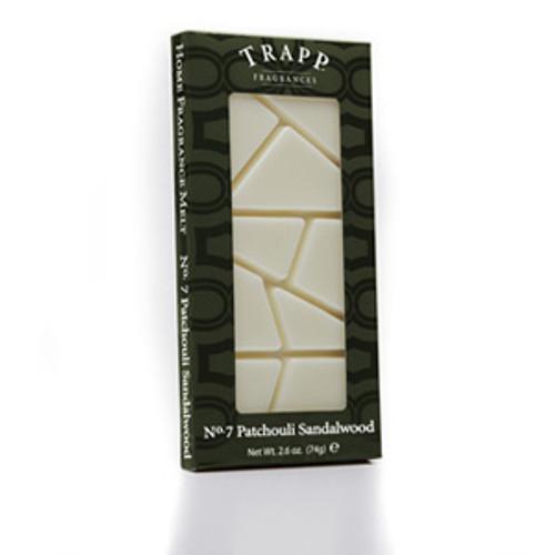 No. 7 Trapp Patchouli Sandalwood - 2.6 oz. Home Fragrance Melts
