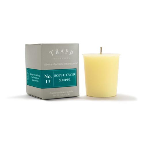 No. 13 Trapp Candle Bob's Flower Shoppe - 2oz. Votive Candle