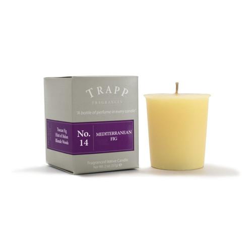 No. 14 Trapp Candle Mediterranean Fig - 2oz. Votive Candle