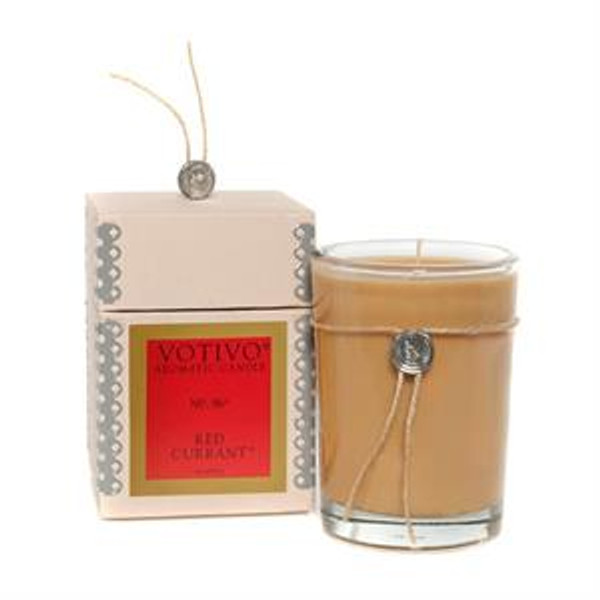 Votivo Aromatic Collection Red Currant Boxed Candle