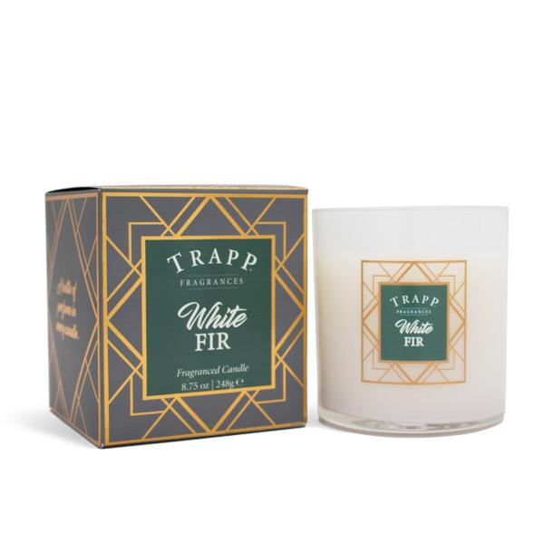 Trapp Fragrances Seasonal White Fir Candle