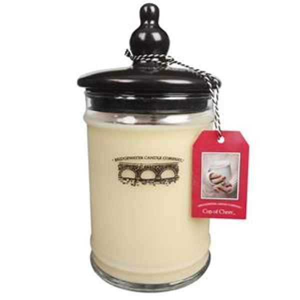 Bridgewater Candle Company Cup of Cheer Large Glass Jar Candle