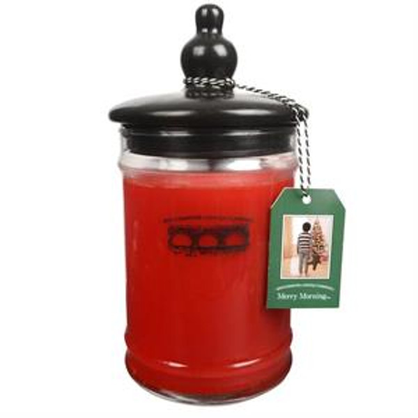 Bridgewater Candle Company Merry Morning Large Glass Jar Candle