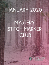 January Monthly Mystery Stitch Marker - Now Open!