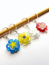 Atomic Knitting Stitch Markers