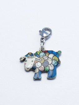 Rainbow Sheep Stitch Marker