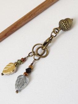 Autumn Trio Stitch Marker set