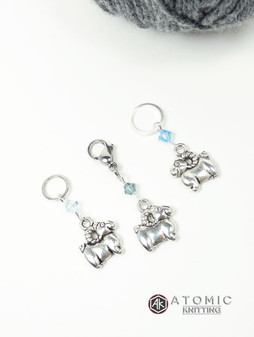 Trios Stitch Marker Set