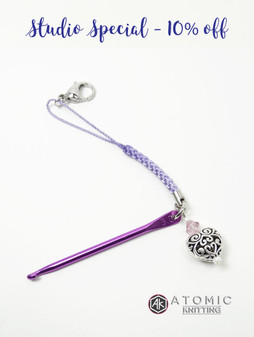 Filigree Heart Mini crochet hook
