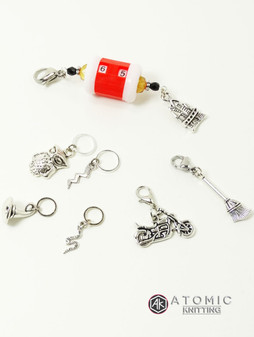 Wizards Stitch Marker & Row Counter Set
