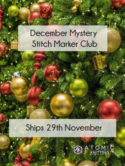 December Mystery Stitch Marker Club