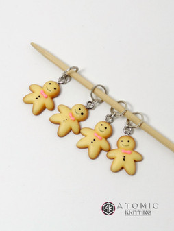 Gingerbread Stitch Markers