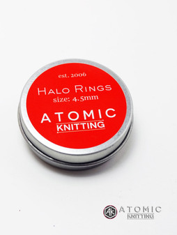 Halo Rings Tin - Bright Red