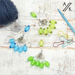 Italian & Austrian Beaded Stitch Markers