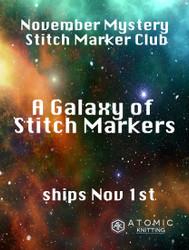 November Mystery Stitch Marker Club Now Open