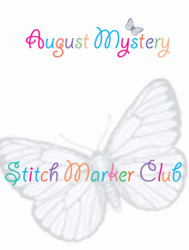 August Mystery Stitch Marker Club Reveal