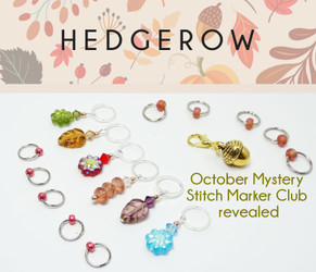 October Mystery Stitch Marker Club Revealed!