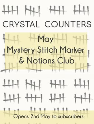 May Mystery Stitch Marker Club