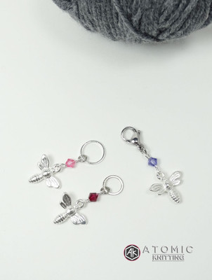 Swarovski Crystal Beaded Stitch Marker Sets